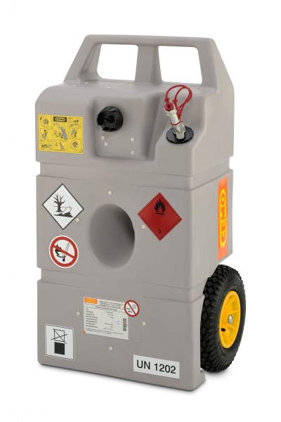 Trolley für Heizöl und Diesel mit Schnellkupplung – 100 Liter