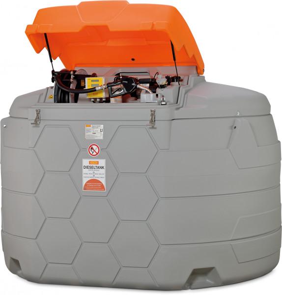 Beispiel Dieseltankstation CUBE-Tank 5000 Liter Outdoor Premium Plus 20 mit Tankdatenverwaltungssystem »CMO20«