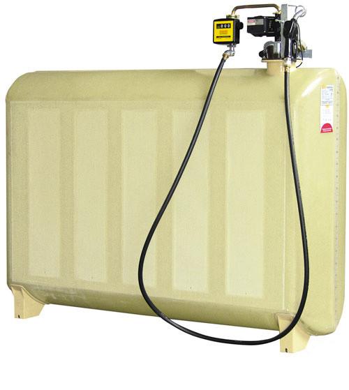 Dieseltank GT 200 Liter Komfortpaket mit Elektropumpe und Zähler