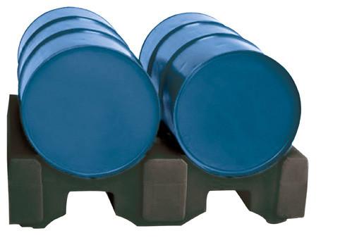 Beispiel Fasspalette für zwei Fässer à 200 Liter