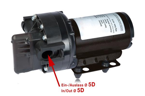 Arag ProFlo 5500 Elektropumpe by REMCO, 5D-Steckanschluss