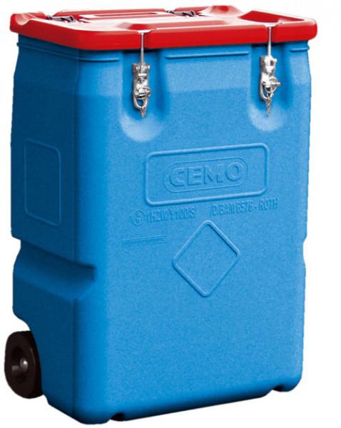 Mobil-Box 170 Liter Inhalt, Deckel rot
