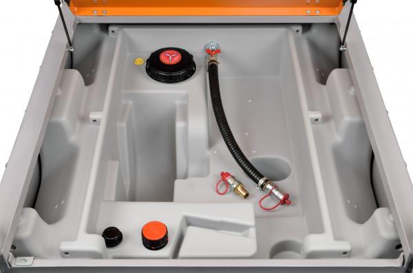 DT-Mobil Easy 980 Liter mit Schnellkupplung – ohne Pumpe