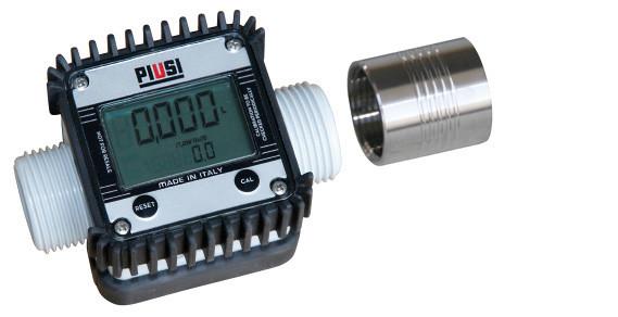 Durchflusszähler K24 elektrisch aus Kunststoff