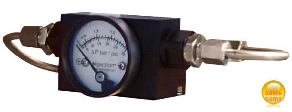Druckanzeigegerät für Filter mit Wasserabscheider – Zubehör für mobile Flugfeld-Tankanlagen
