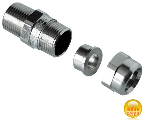 Verschraubung für Kabel ø 7 – 12 mm