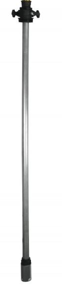 Abb. ähnlich: Teleskop-Saugrohr aus Stahl