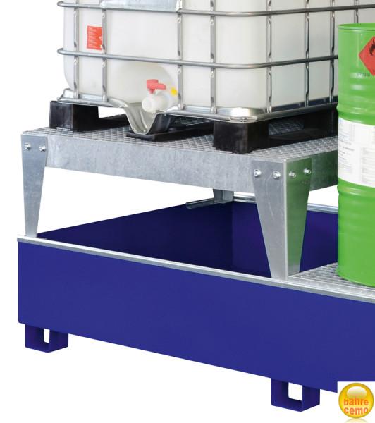 Beispiel IBC-Abfüllbock verzinkt für einen Container