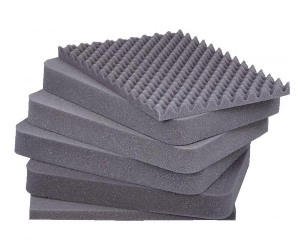 Würfelschaumstoff Transportschutz für Alutec-Boxen
