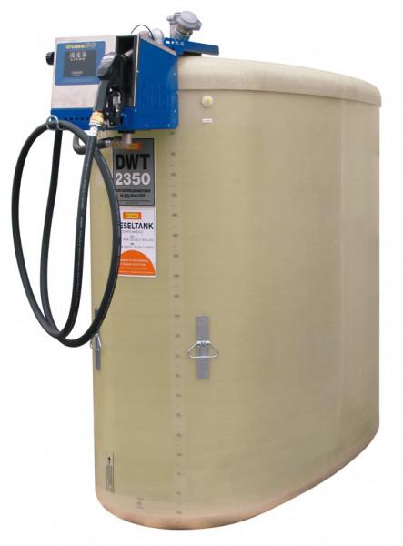 DWT-Dieseltankstation mit Elektropumpe 50 l/min im Schutzkasten