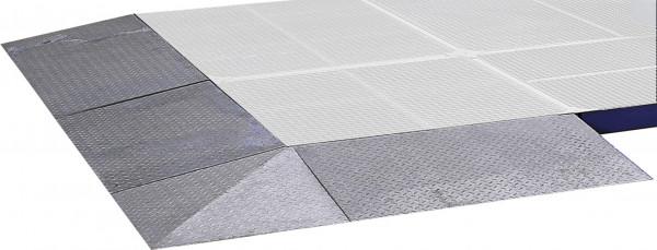 Auffahrrampen für Flächenschutzsystem aus Stahl – verschiedene Größen