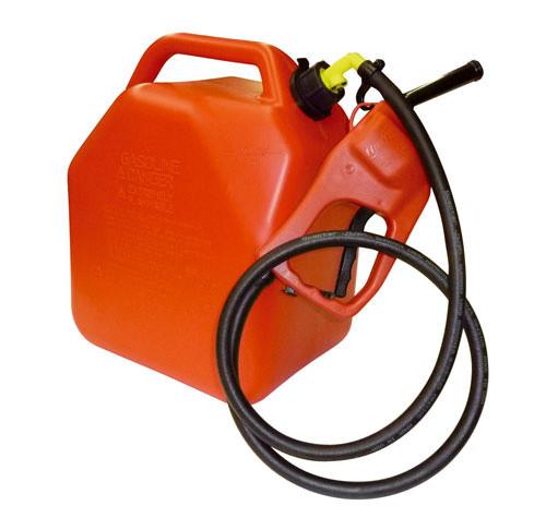 Benzin-Kanister 25 Liter mit Zapfpistolenpumpe