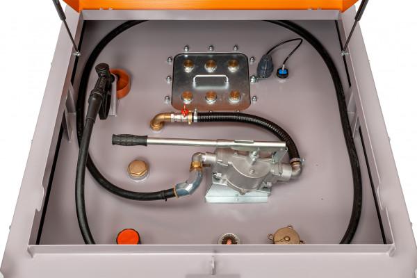 DT-Mobil PRO ST 980 Basic mit Handpumpe, Befüllschlauch und Zapfventil