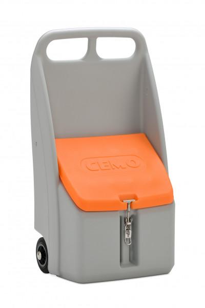 Go-Box mit 70 Liter Inhalt von Cemo für Streugut oder Bindemittel