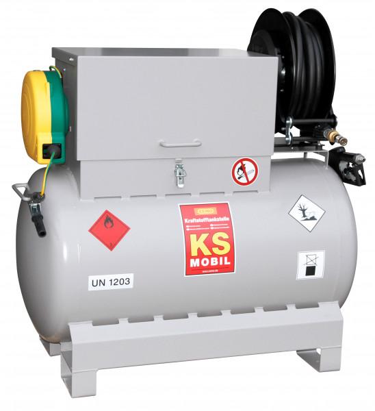 Absauggerät Mobil 300 Liter für Kraftstoffe mit Elektropumpe 12-Volt