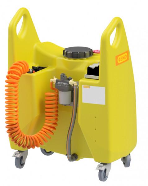 Transfer-Trolley Aqua 150 Liter mit Elektropumpe