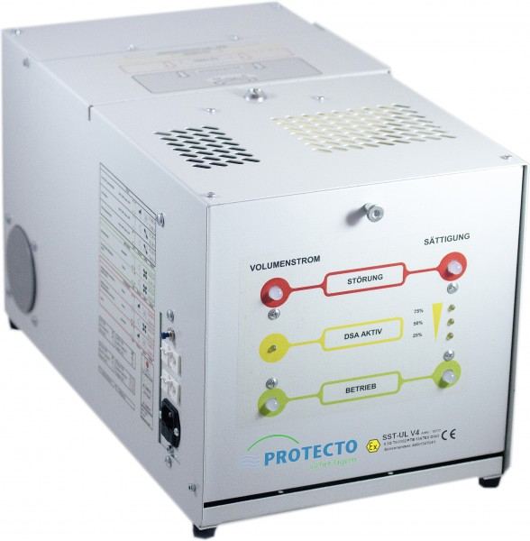 Umluftventilator mit Aktivkohlefilter und Luftstromüberwachung für Schränke mit FWF90