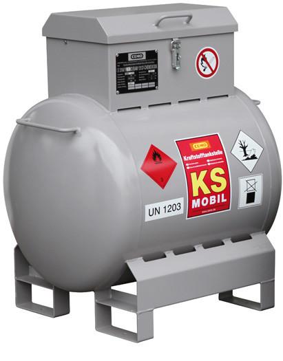 Benzintankanlage KS-Mobil 200 Liter mit ADR-Zulassung