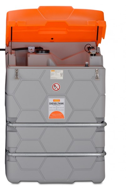 Beispiel CUBE-Tank als Erweiterungseinheit 1500 Liter – Lieferung erfolgt ohne Deckel