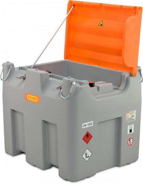Cemo DT-Mobil Easy 980 Liter Generatortank mit Klappdeckel und Füllstandanzeiger