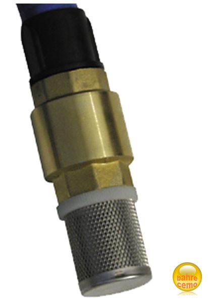 Fußventil aus Kunststoff mit Tülle DN19, für Saugschlauch
