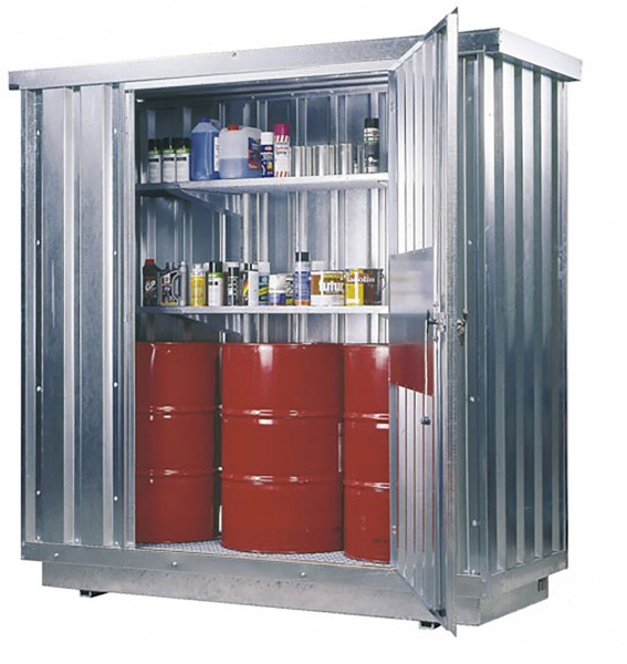 Beispiel Sicherheitsraumcontainer Typ SRC 1.1W