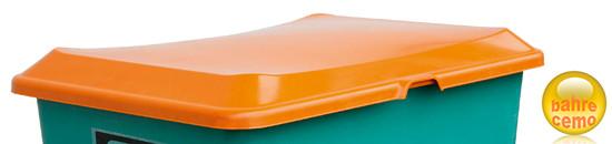 Beispiel Stapeldeckel 400 Liter-Behälter, orange