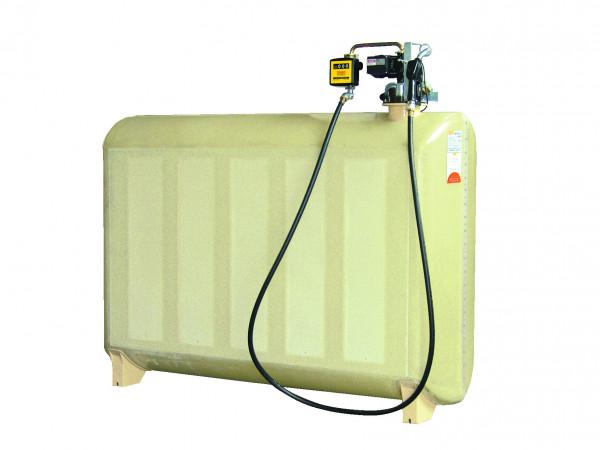Beispiel GT-Diesertankstation 2000 Liter komplett mit Pumpe und Zähler