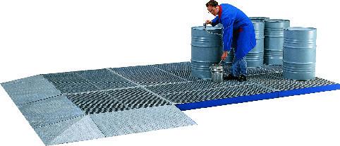 Beispiel modulares Flächenschutzsystem aus Stahl