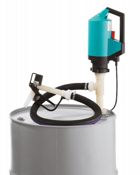 Cemo IBC-/Fasspumpe für Chemikalien, Chemie-Set