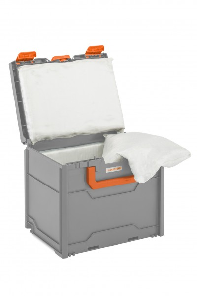 Akku-Systembrandschutzbox Li-SAFE Größe 3-S mit UN-Zulassung und Spezialkissen