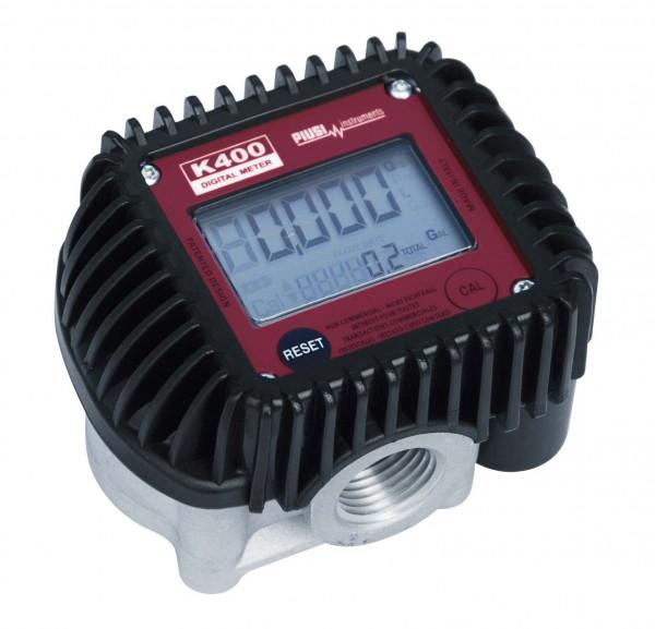 Elektronischer Zähler K400 Ovalradprinzip für max. 70 bar