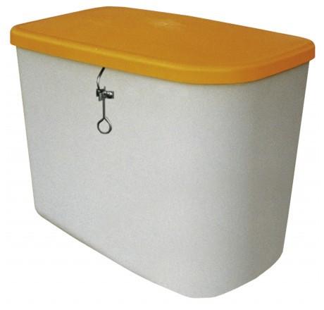 Cemo Streugutbox in kompakter Form mit Deckel ohne Entnahme-Öffnung