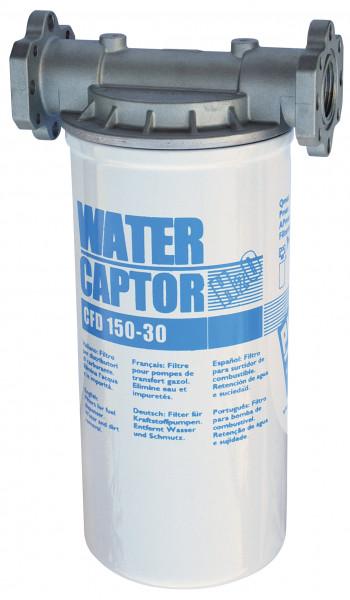 Filter mit Kartusche und Wasserabscheider max. 100 l/min