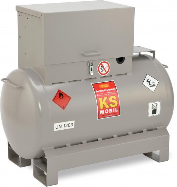 Benzintankanlage KS-Mobil 300 Liter mit Handpumpe