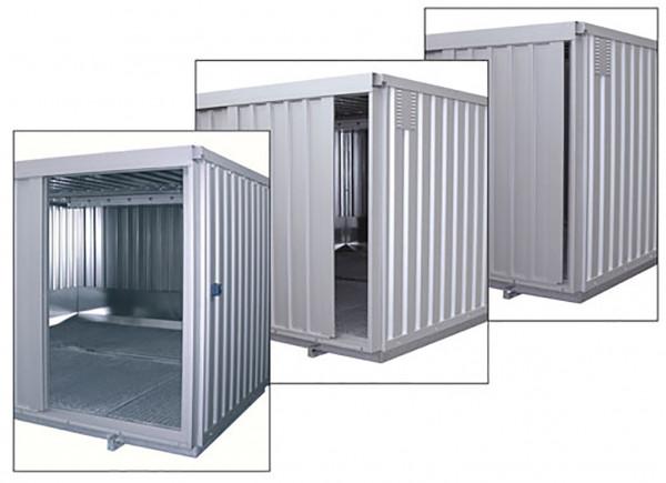 Sicherheits-Raumcontainer Typ SRC N ST – Schiebetor-Variante