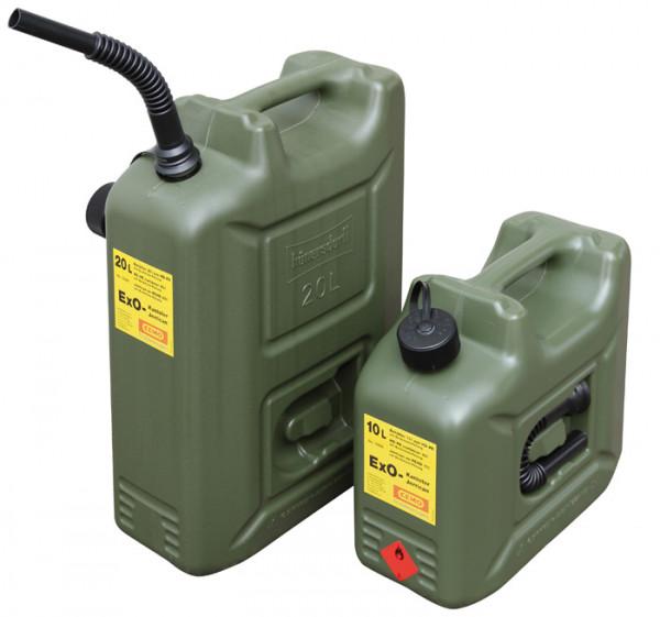 Cemo ExO-Kanister 10 und 20 Liter für Benzin