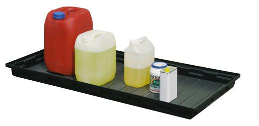 Beispiel PE-Auffangwanne 30 Liter ohne Gitterrost