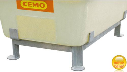 Cemo Stahlfuß-Gestell für Behälter und Wassertanks