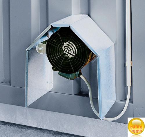 Ventilator für Sicherheits-Raumcontainer Belüftung