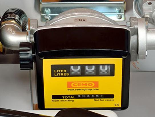 Abb. ähnlich: manueller Zähler K 33 für Dieseltankanlagen DT-Mobil Easy 980 Liter mit Handpumpe