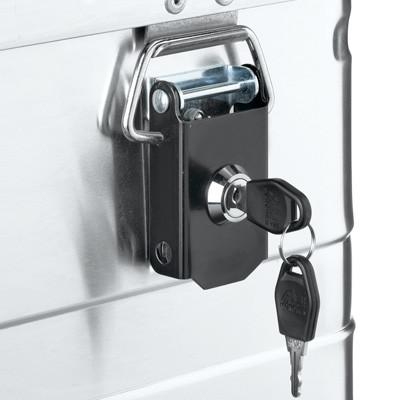 Zylinderschloss mit zwei Schlüsseln für Alutec-Boxen