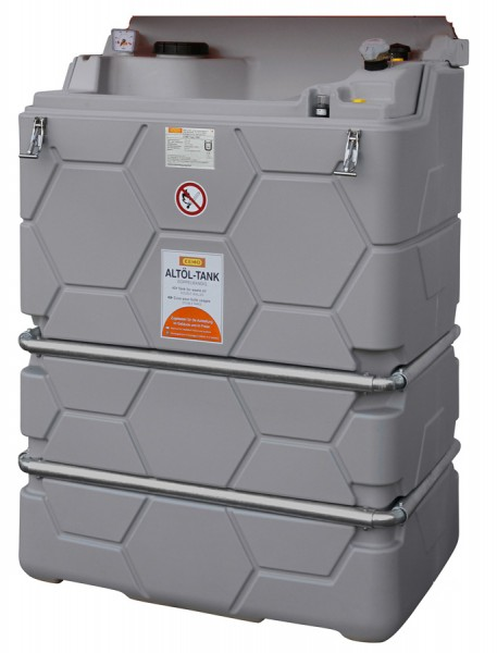 Beispiel CUBE Altöltank 1000 Liter ohne Klappdeckel