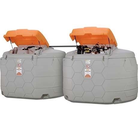Beispiel Cemo CUBE-Dieseltankanlage 10.000 Liter Outdoor Premium
