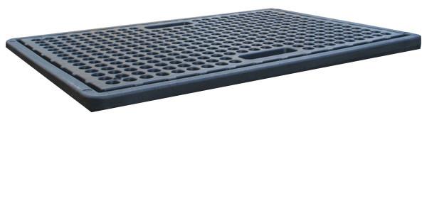 Beispiel PE-Lochplatte für Auffangwanne 230/2