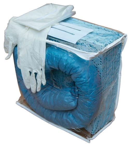 Beispiel Cemsorb-Notfallset für Öl (blau)