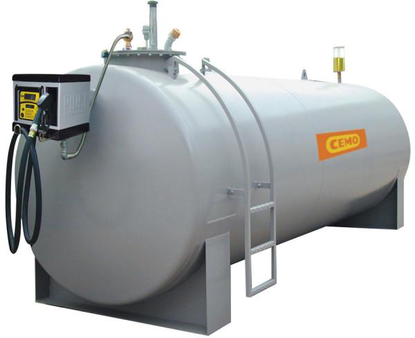 Stahltank-Dieseltankstation mit Elektropumpe CUBE 70 MC50