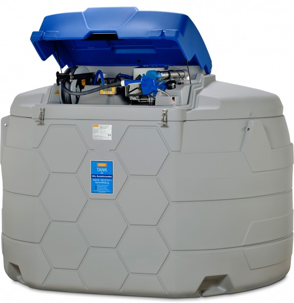 Abb. ähnlich: AdBlue CUBE-Tank 5000 Liter Outdoor Premium Plus SIM mit Tankdatenverwaltungssystem CMO20